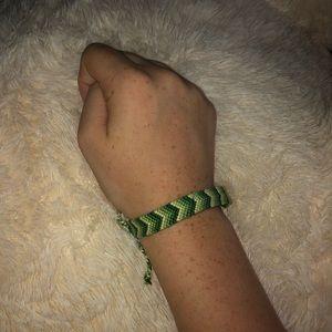 Handmade chevron friendship/vsco bracelet